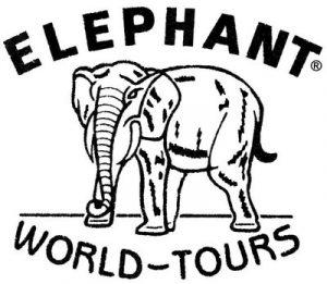 das Logo Elephant World-Tours