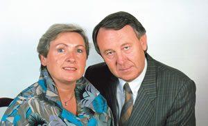Das Gründerehepaar Inge und Manfred Pullig
